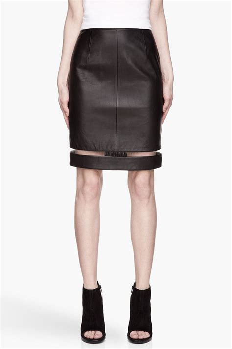 Rok Pensil Skrit 38 best a touch of rock n roll leather pencil skirt