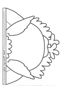 Printable Turkey Template by Best Photos Of Turkey Craft Template Printable Turkey