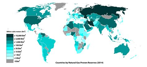 World Atlas Of And Gas Basins file countries by gas proven reserves 2014 svg wikimedia commons