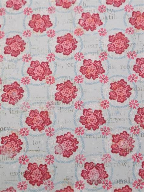 Patterned Craft Paper Uk - 5 sheets 1 sided a4 patterned backing paper 120gsm