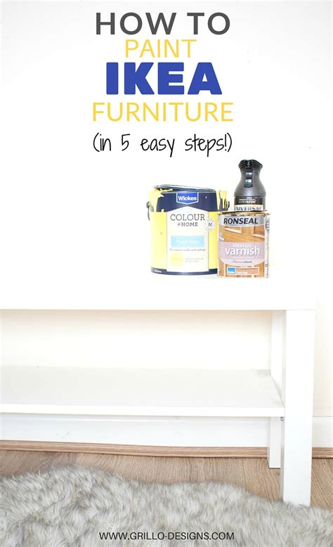 how to paint ikea how to paint ikea furniture in 5 easy steps grillo designs