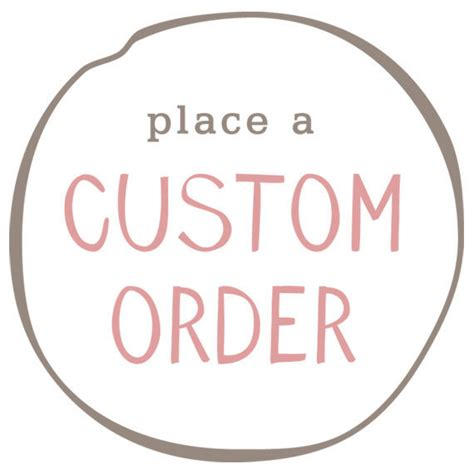 Handmade To Order - place a custom order by mumsfrommars on etsy