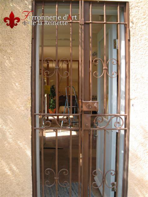 Grille De Defense Pour Porte by Grille En Fer Pour Porte D Entr 233 E 224 Maximin