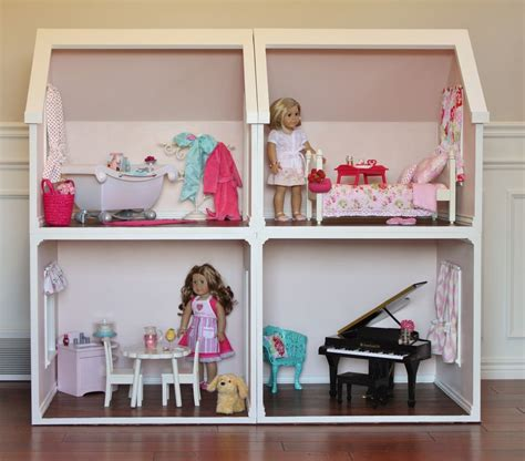 dolls houses for sale on ebay digital doll house plans for american girl dolls 4 rooms not actual dollhouse ebay