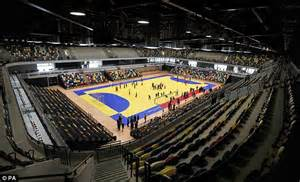 Wembley Stadium Floor Plan london 2012 olympics handball arena could host nba stars