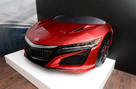Acura Credit 2017 Acura Nsx Signed By Being Auctioned