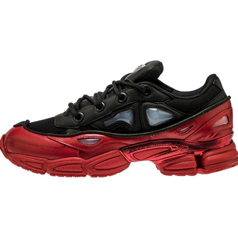 adidas raf simons adidas ozweego 3 by raf simons men s shoe black red