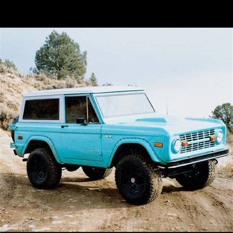 blue bronco car baby blue bronco for the love of ford pinterest