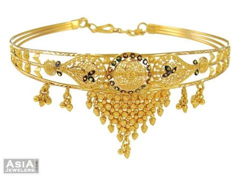 bajuband pattern indian gold armlet bajuband ajbb53657 indian gold