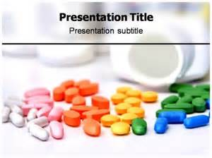Medicine Powerpoint Templates by Colorful Medicine Pills Ppt Templates Colorful Medicine