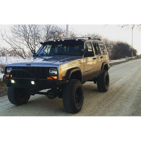 jeep xj stock bumper jeep cherokee xj steel custom bumper swamper