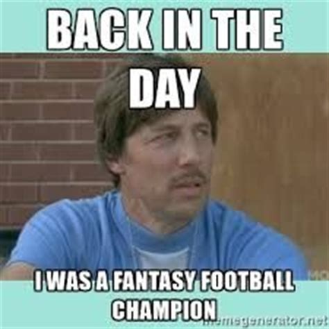 Fantasy Football Chion Meme - fantasy football trash talk memes fantasy football