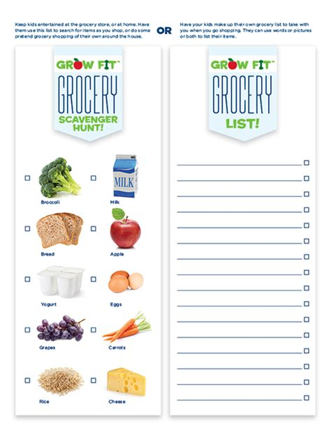 printable grocery list for toddlers free printable grocery shopping list for kids la petite