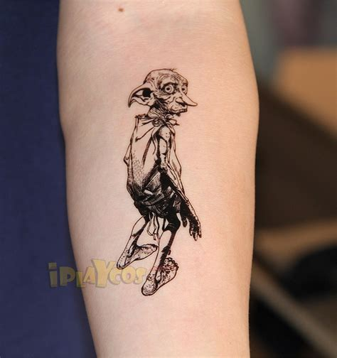 dobby tattoos cool harry potter tattoos trusper