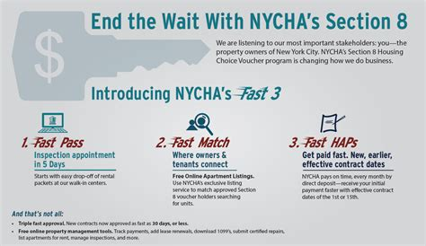 section eight housing rules owners nycha