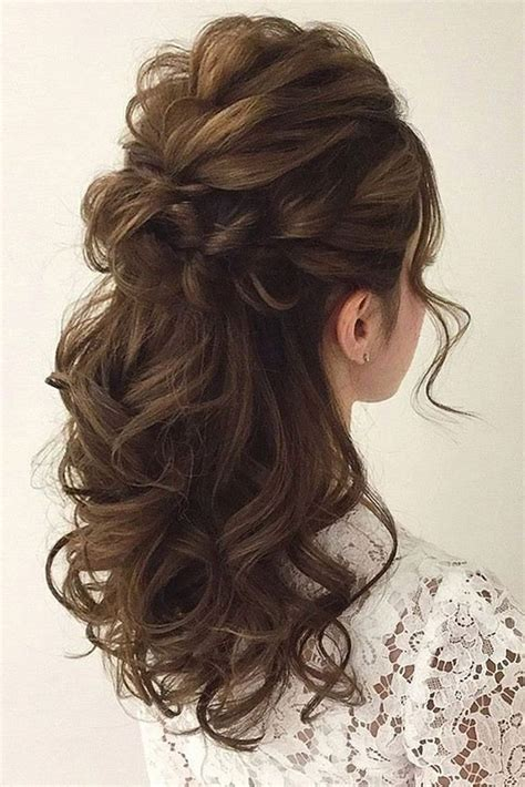 wedding hairstyles wedding hair half up ideas weddings