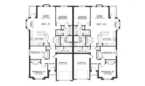 modern duplex plans modern duplex house plans duplex house designs floor plans