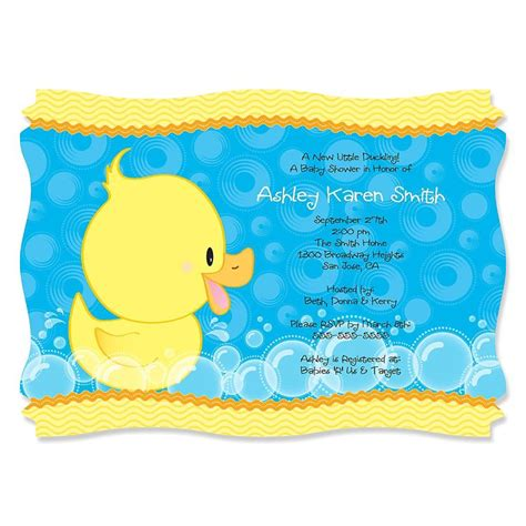 duck baby shower 16 best images about bb shower on free printables free printable invitations and