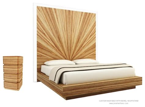 nightstands for tall beds nash tall bed morel nightstand by jonathan franc
