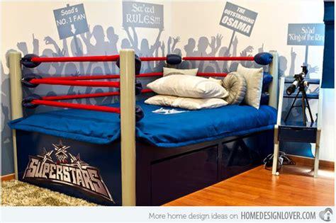 Wwe Bedroom Ideas 15 Boys Themed Bedroom Designs Home Design Lover