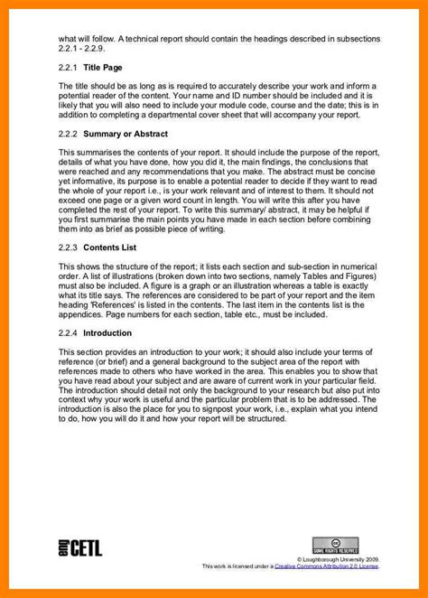 sle technical report writing exle sle technical report writing exle 28 images technical