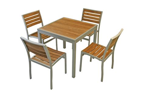 Set added square dining table and two dining chairs dining room table