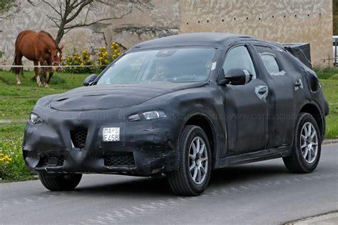 Who Makes Alfa Romeo by Stelvio Makes A Pass Alfa Romeo Suv Prototype Spotted By