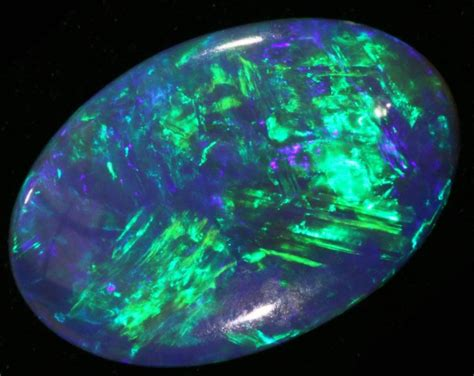 Opal 3 25 Cts 3 25 cts black opal from lightning ridge bc16