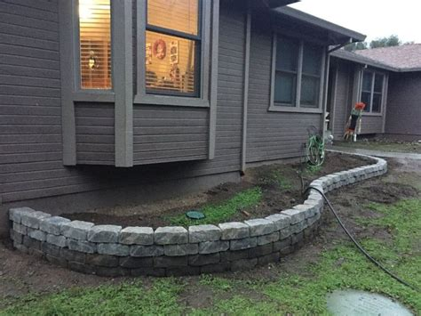25 best ideas about small retaining wall on
