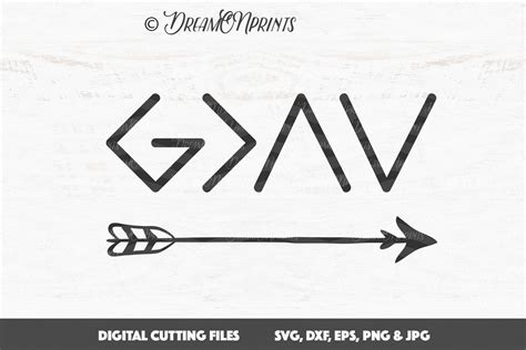 god is greater than the highs and lows tattoo god is greater than the highs and lows svg svg god dxf file