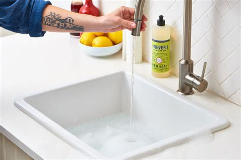 Clean Sink Disposal by How To Clean Your Kitchen Sink Disposal Apartment Therapy