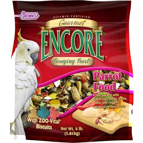 encore 174 gourmet foraging feast 174 parrot food best pet