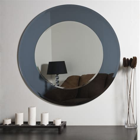 Modern Mirrors For Bathroom Decor Camilla Modern Bathroom Mirror Beyond Stores