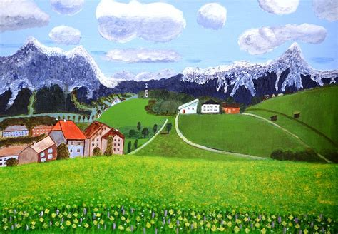 beautiful pictures beautiful norway painting by magdalena frohnsdorff