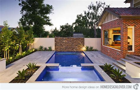 Backyard Landscaping Ideas Small Yards Pool 15 Great Small Swimming Pools Ideas Home Design Lover
