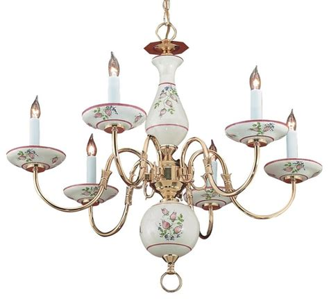 Italian Ceramic Chandelier italian painted ceramic soft floral chandelier modern chandeliers by elite fixtures