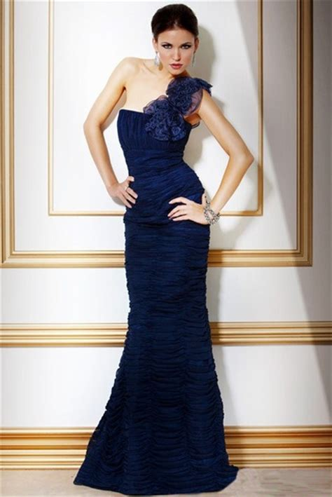 Sho N Shoulders the gallery for gt blue prom dress mermaid