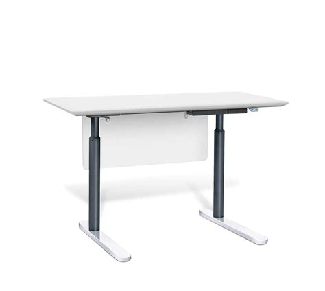 Electric Sit Stand Desk By Unique Furniture 7400 Ze Desks Sit Stand Electric Desk