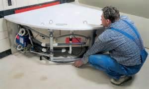 badewanne siphon ausbauen whirlpool selber bauen