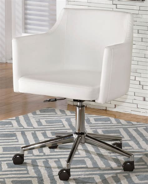 White Modern Desk Chair Chicago White Modern Office Chair Furniture Stores