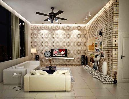 Wallpaper Dinding Ruang Tamu Sempit | motif wallpaper dinding untuk ruang tamu ukuran sempit