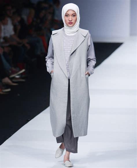 Gamis Floral Dress Floral Abu Abu 50 inspirasi busana muslim lebaran