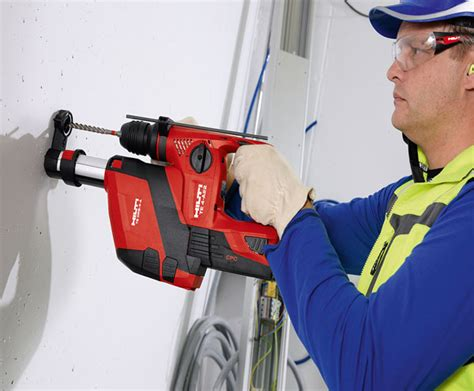 Drs Plumbing by Hilti Cordless Rotary Hammer Te 4 A18 With Dust Removal