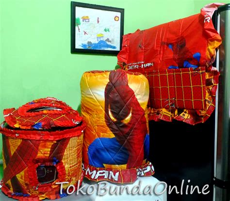 Set Sarung Gkm Galon Kulkas Magic Motif detail produk tutup galon kulkas dan magic gkm