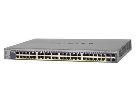 Switch Hub 48 Port Gigabit netgear prosafe 48 port gigabit smart switch with poe