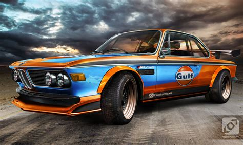 gulf car bmw 3 0 cs gulf kustomeka