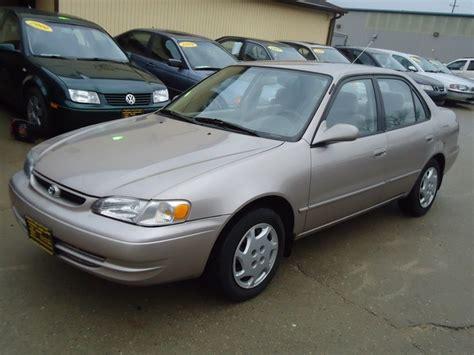 2000 Toyota Corolla Ce 2000 Toyota Corolla Ce For Sale In Cincinnati Oh Stock