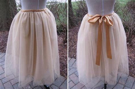 How To Make A Tulle by Sewing A Tulle Skirt