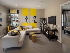 yellow decor living