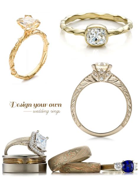Wedding Ring Design Your Own by Design Your Own Wedding Ring With Joseph Jewelry Green
